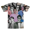 Buddy Holly tshirt back