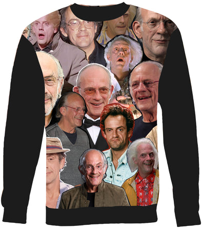 Christopher Lloyd Photo Collage Sweatshirt