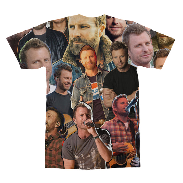Dierks Bentley tshirt back
