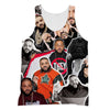 DJ Khaled 3D Collage Face T-Shirt