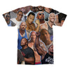 Dwayne Johnson tshirt back