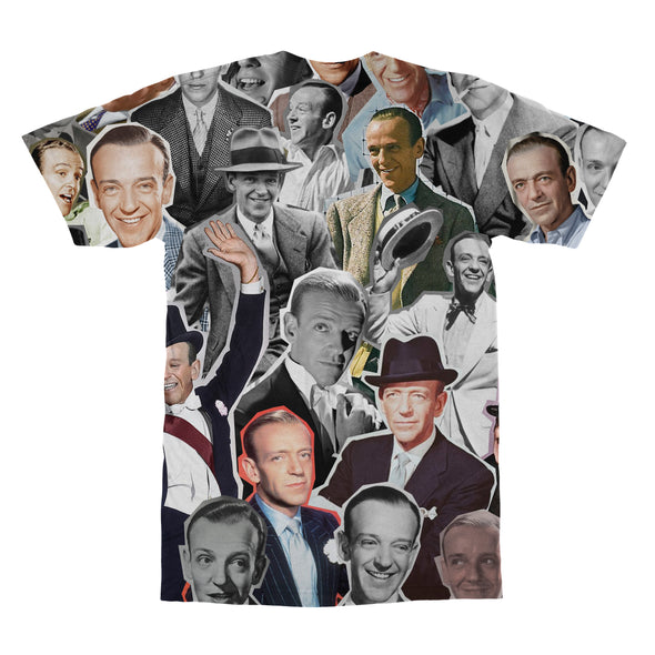 Fred Astaire tshirt back