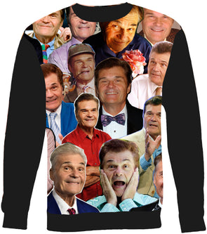 Fred Willard Photo Collage Sweatshirt