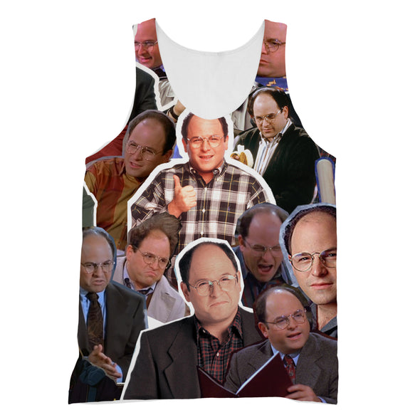 George Costanza 3D Collage Face T-Shirt