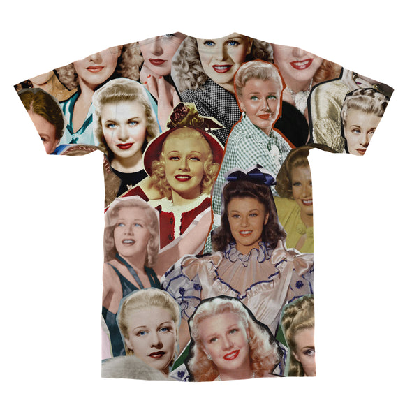 Ginger Rogers tshirt back
