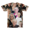 Glenn Close tshirt back