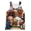 Hannibal Lecter tank top
