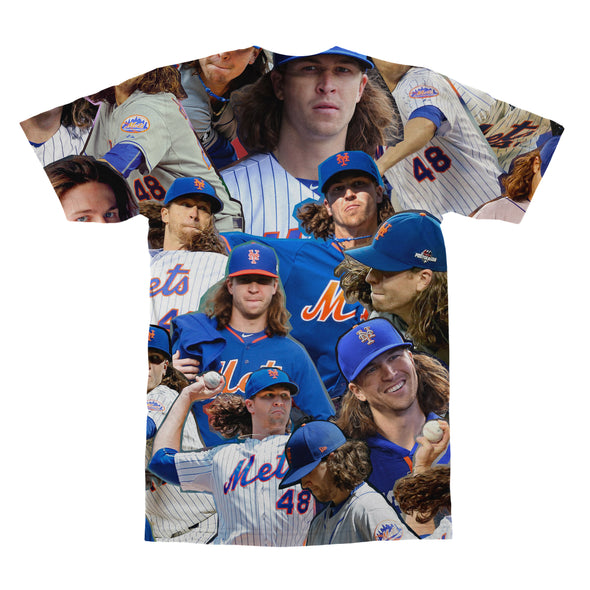 Jacob deGrom tshirt back
