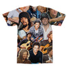 Jason Mraz tshirt back