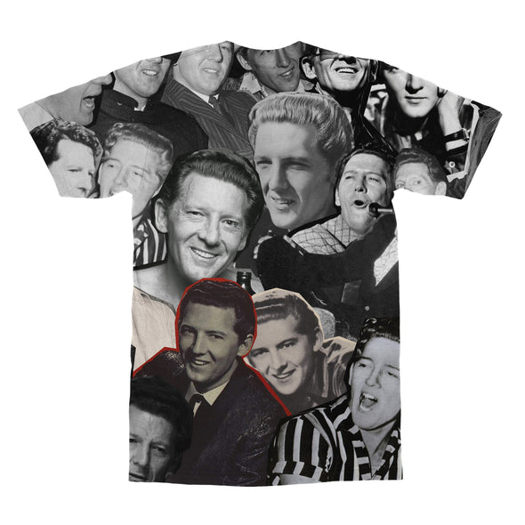 Jerry Lee Lewis tshirt back