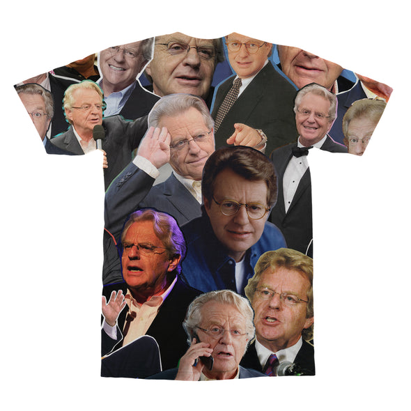 Jerry Springer tshirt back