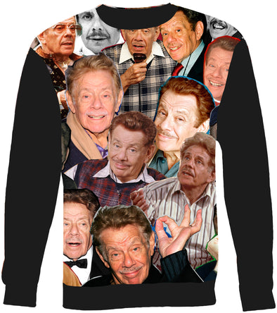 Jerry Stiller Photo Collage Sweatshirt