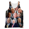 John McCain 3D Collage Face T-Shirt