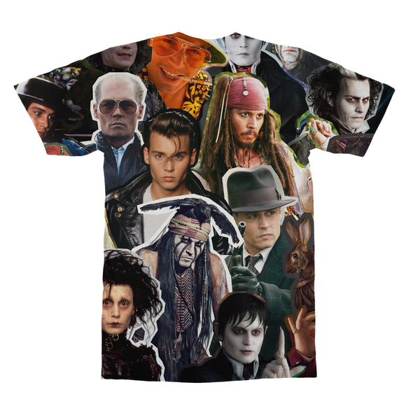 Johnny Depp tshirt back