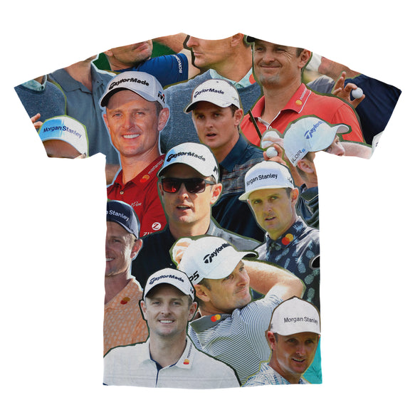 Justin Rose tshirt back