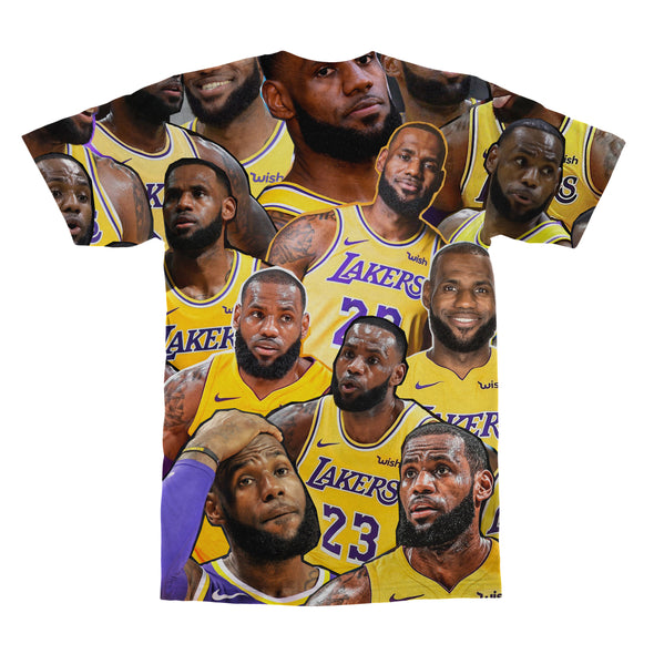 Lebron James tshirt back