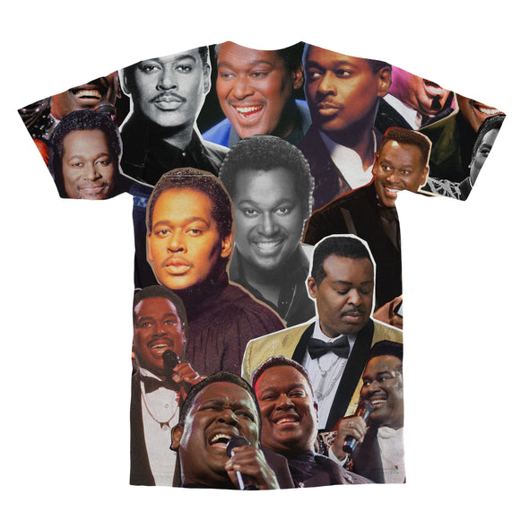 Luther Vandross tshirt back