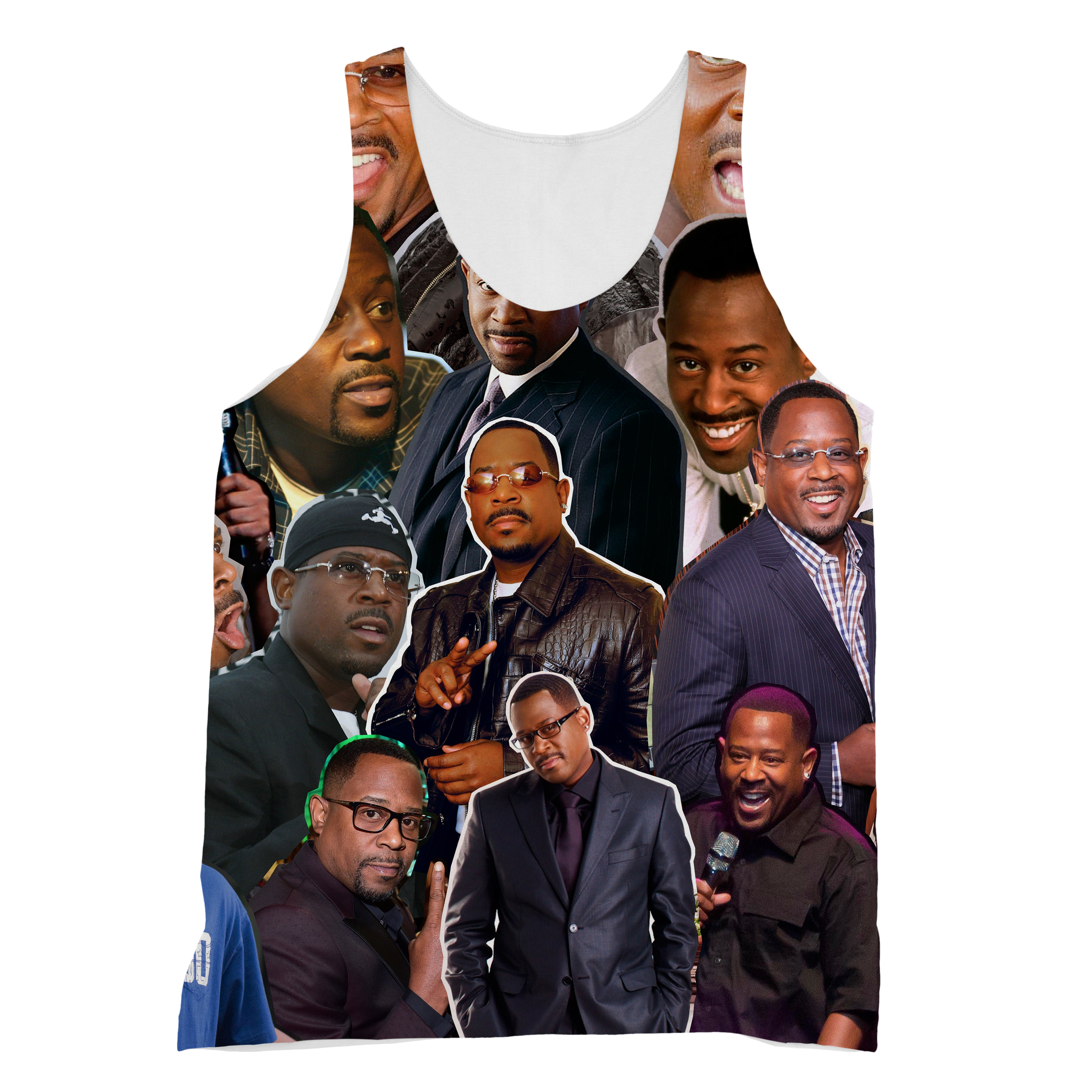 best wholesaler 61b13 47f0d Martin Lawrence 3D Collage Face T-Shirt – AllOverPrint.ca