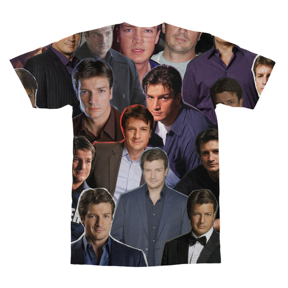 Nathan Fillion tshirt back