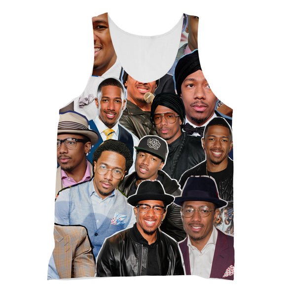 Nick Cannon 3D Collage Face T-Shirt