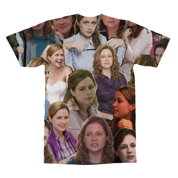 Pam Beesly The Office tshirt back