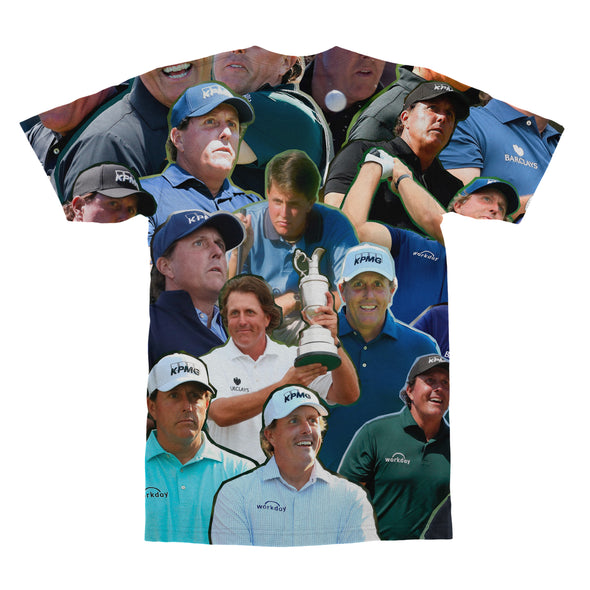 Phil Mickelson tshirt back