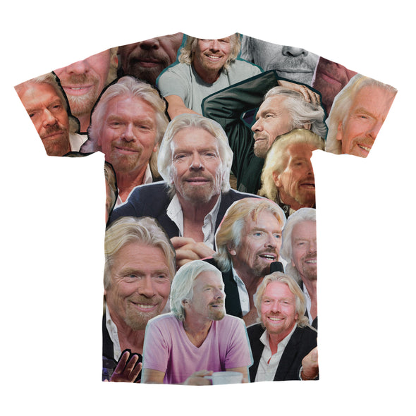 Richard Branson tshirt back