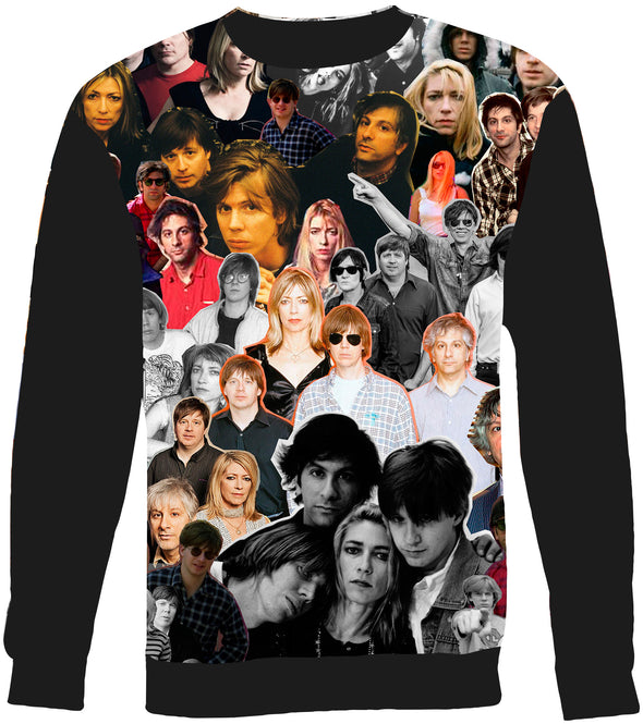Sonic Youth Photo Collage Sweatshirt