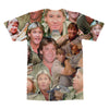 Steve Irwin (The Crocodile Hunter) tshirt back