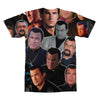Steven Seagal tshirt back