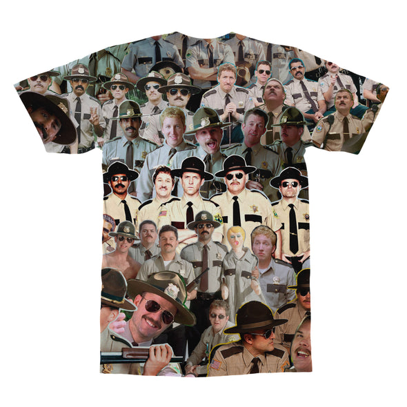 Super Troopers tshirt back