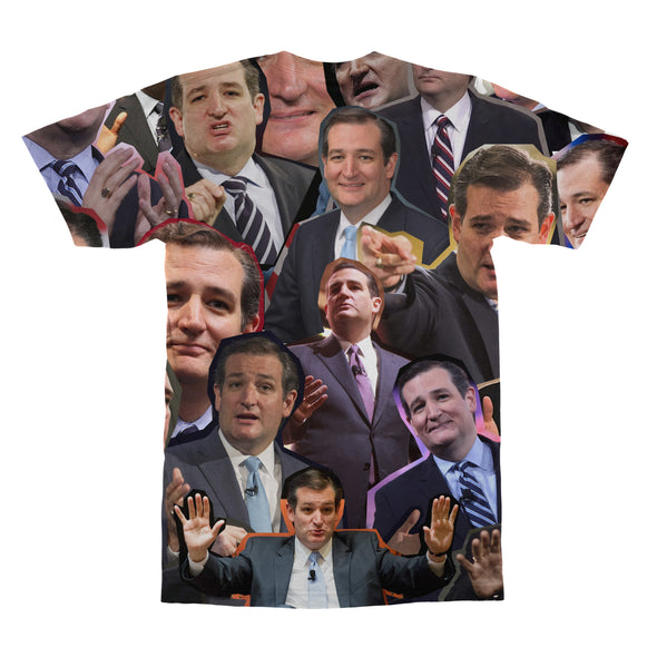 Ted Cruz tshirt back