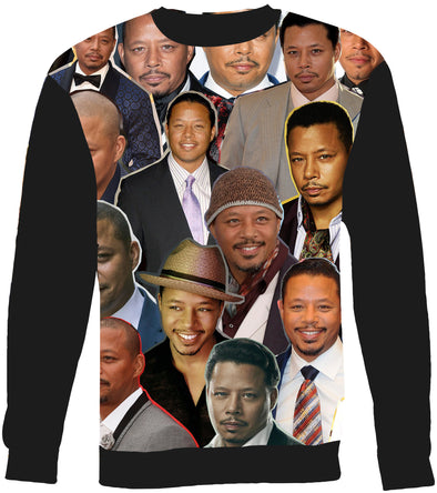 Terrence Howard Photo Collage Sweatshirt