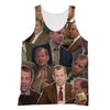 Toby Flenderson The Office 3D Collage Face T-Shirt