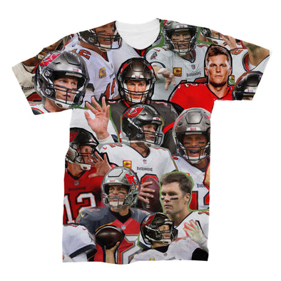Tom Brady 3D Collage Face T-Shirt