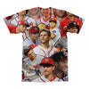 Trea Turner tshirt back
