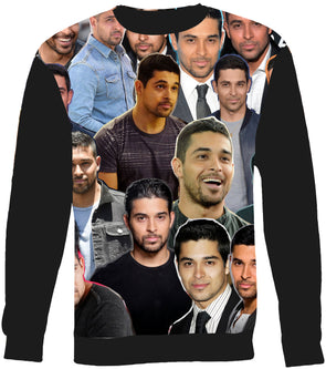 Wilmer Valderrama Photo Collage Sweatshirt