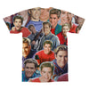 Zack Morris Saved By The Bell tshirt back