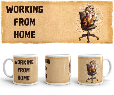 Working From Home - Mug