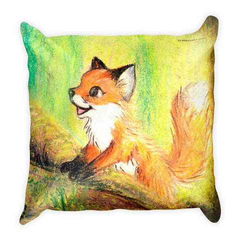 Can We Play - Fox Pillow