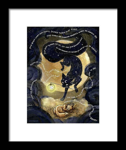 Sandman Fox - Framed Print