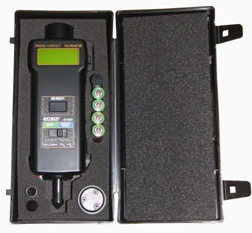 T15491 Hand Held Contact Non Contact Tachometer