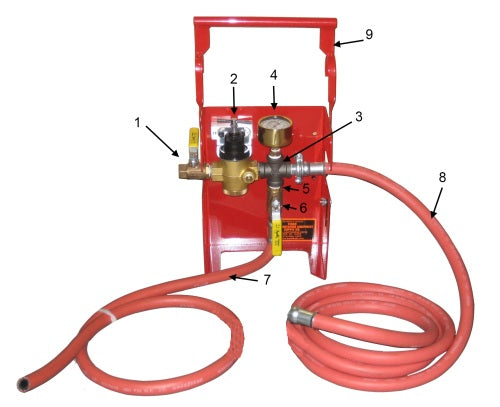 T51760 Water Regulator Kit Used in T51750 Cooling System Tester