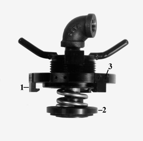 T51780 Fill Neck Pressure Fixture for GE and EMD Engines