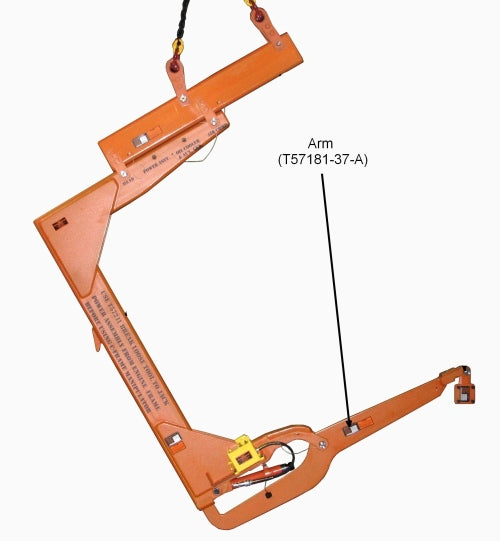 T57181 37A  Arm for T57181 37 Air Compressor Lifting Appliance for  C  Frame Manipulator