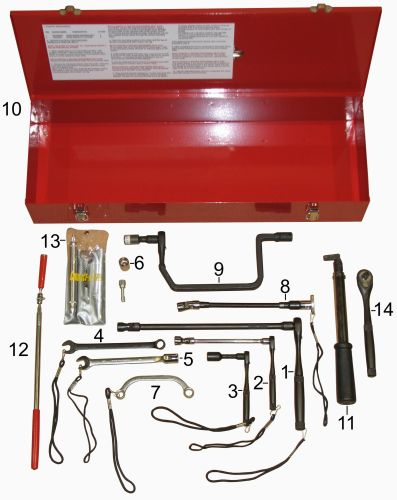 T58592 Speed Sensor Installation / Removal Kit - for GE AC Traction Motors