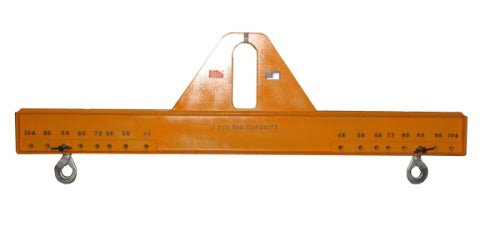 T59331  Spreader Beam Lifter Rated for 7 1/2 Tons