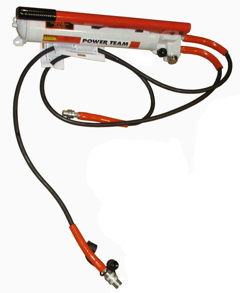 T85601B Double Acting Hydraulic Pump w/Hose and Couplers