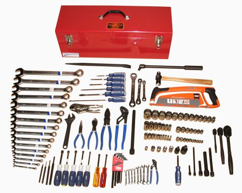 T98111  Electrician's Hand Tool Set With Toolbox For Use on All Locomotives