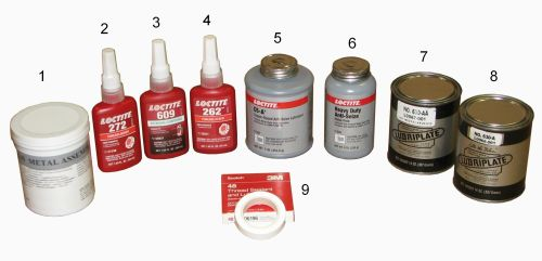 Consumable Products For Engine Maintenance
